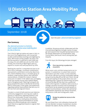 U District Mobility Plan Summary